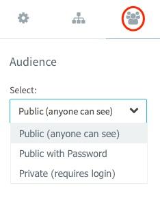 Manage QuickSite Privacy Settings – MediaSilo Knowledge Base